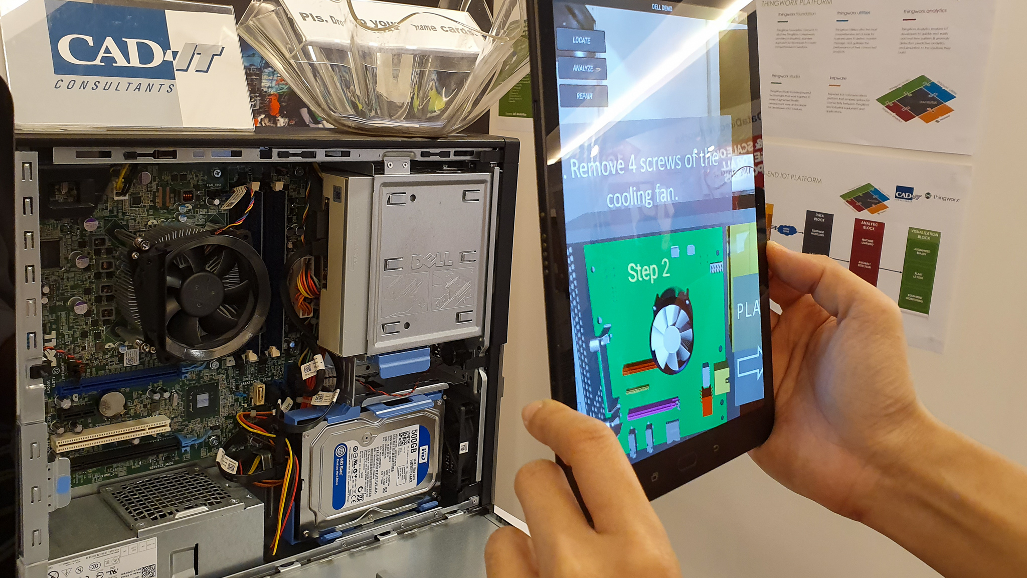 Augmented Reality(AR) to Improve Worker Productivity