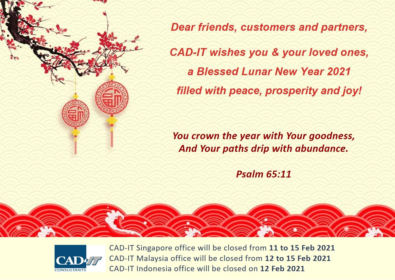 CNY 2021 Greetings